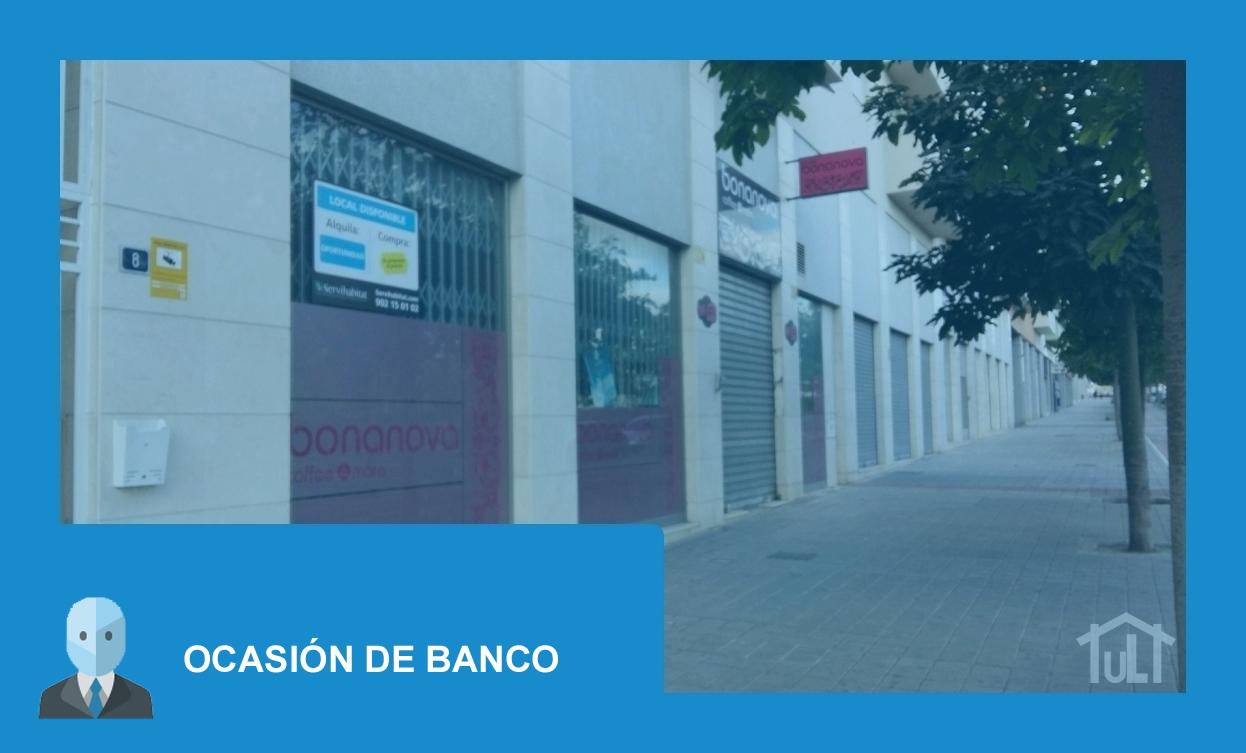 Local Comercial – Alicante – Gran via – Parque Avenidas