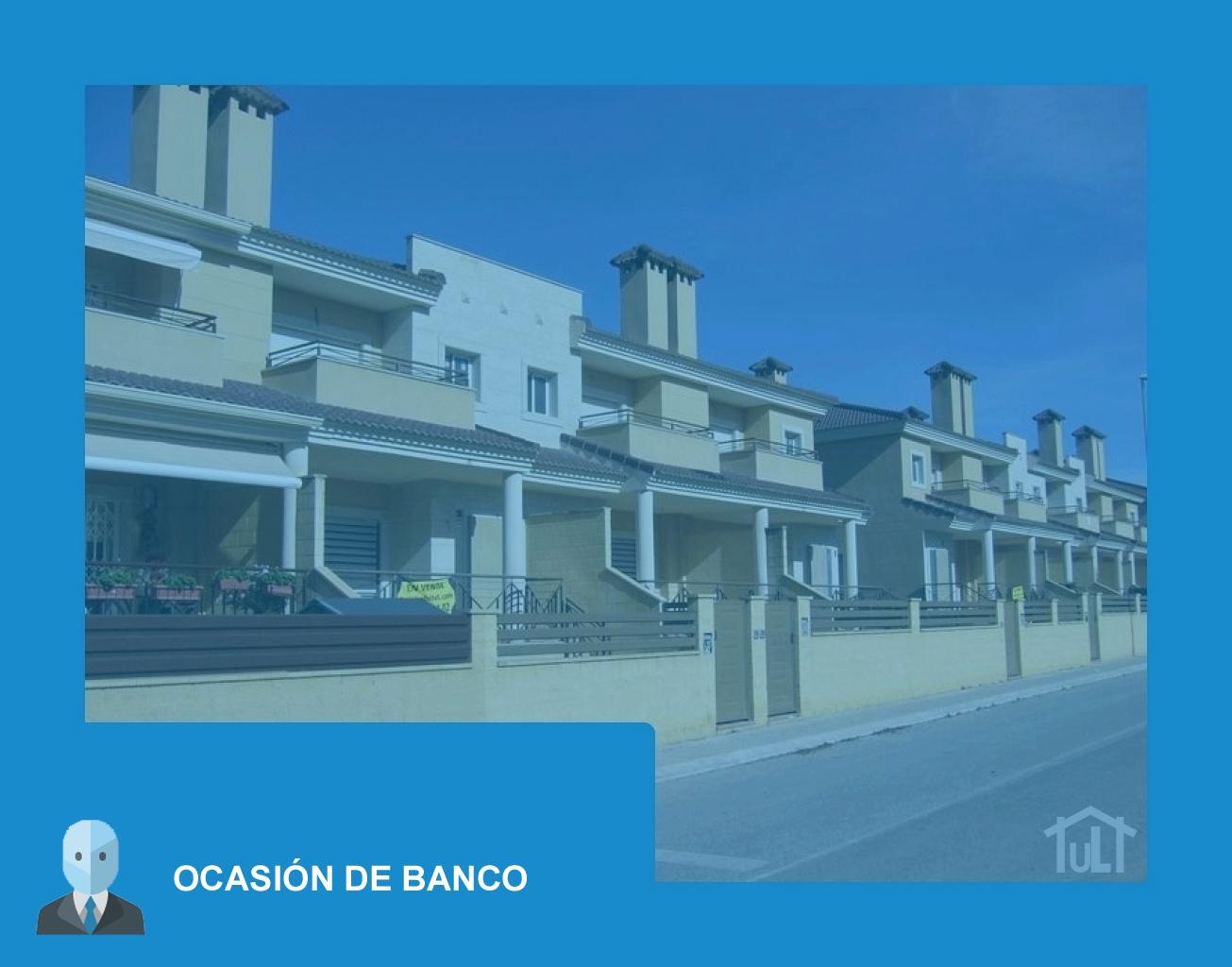Adosado – 4 dormitorios – Ocasión de Banco – Obra nueva – Monforte del Cid